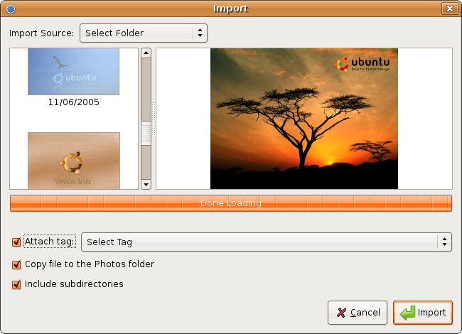 F-SpotHowto?action=AttachFile&do=get&target=FSpot_Import.png