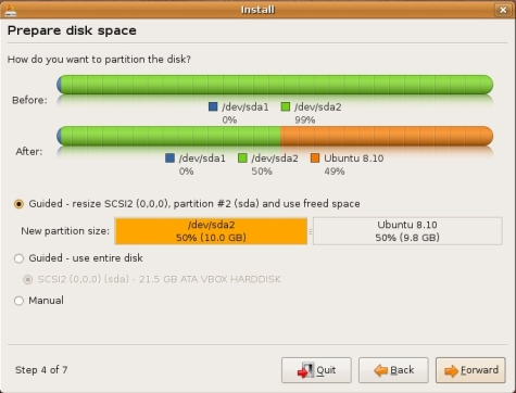 [Imagem: GraphicalInstall?action=AttachFile&a...alBoot.png]