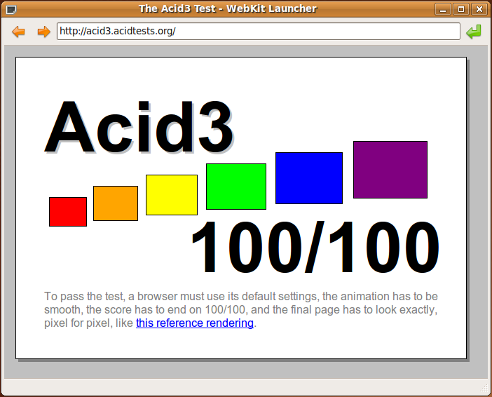 The Acid3 Test: 100/100