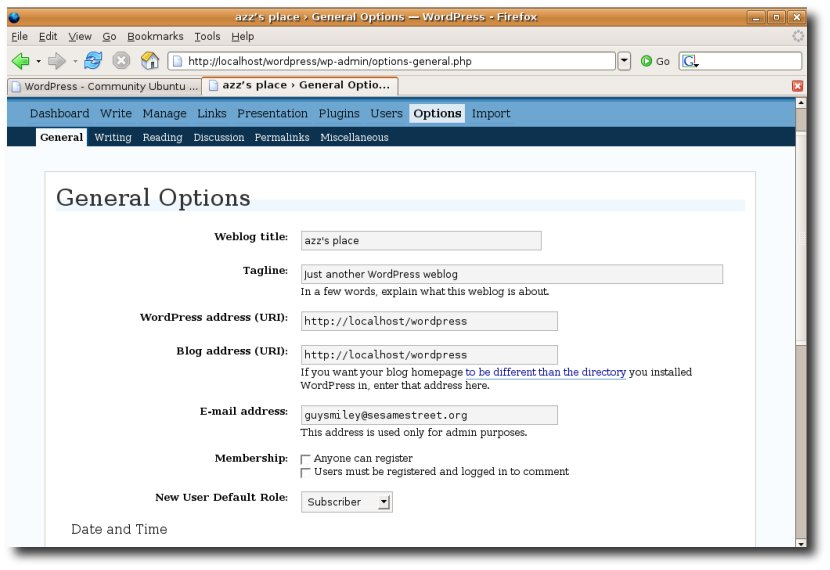 WordPress?action=AttachFile&do=get&target=wordpress3.jpg
